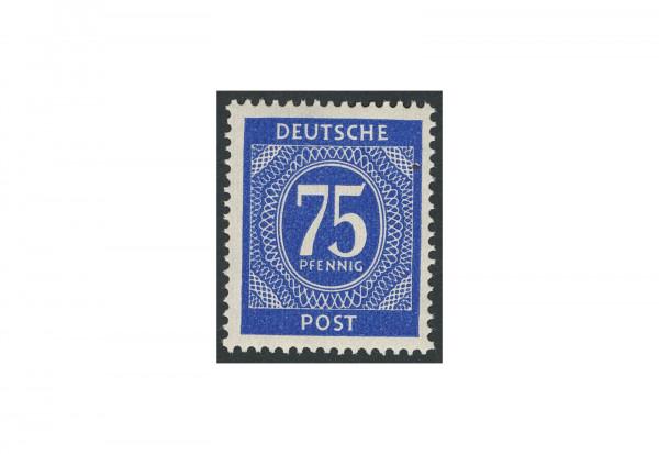 Briefmarke Alliierte Besetzung Kontrollrat I 1946 Michel-Nr. 934 ba postfrisch