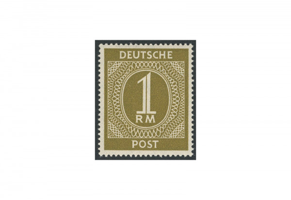 Briefmarke Alliierte Besetzung Kontrollrat I 1946 Michel-Nr. 937 c postfrisch