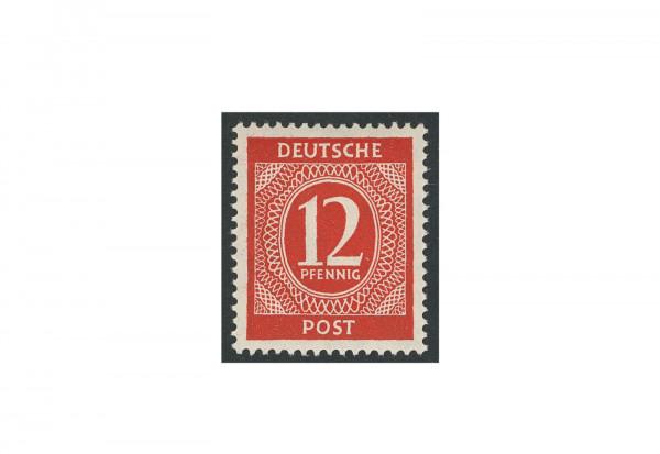 Briefmarke Alliierte Besetzung Kontrollrat I 1946 Michel-Nr. 919 c postfrisch