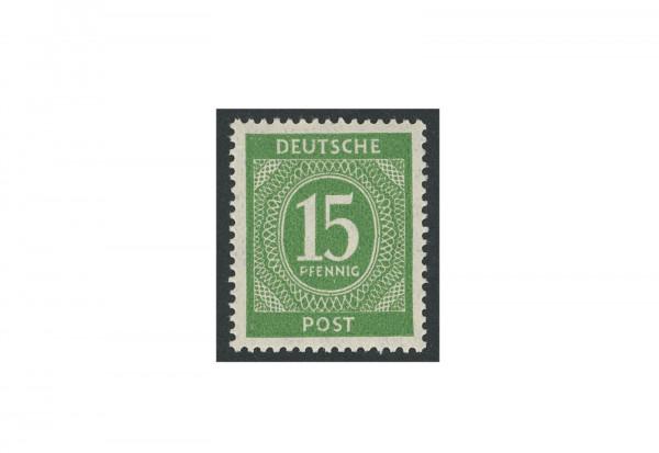 Briefmarke Alliierte Besetzung Kontrollrat I 1946 Michel-Nr. 922 f postfrisch