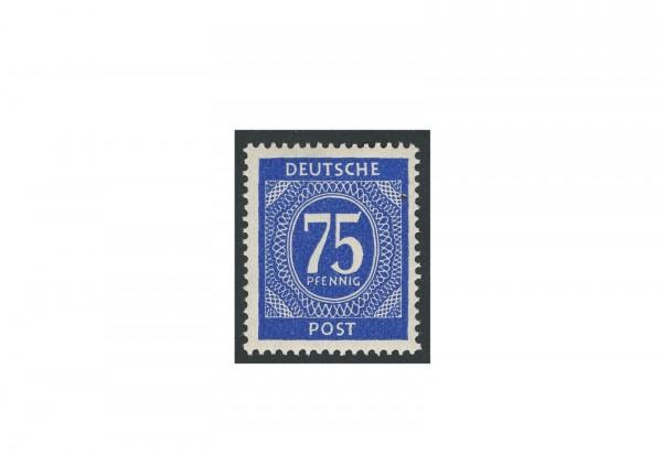 Briefmarke Alliierte Besetzung Kontrollrat I 1946 Michel-Nr. 934 b postfrisch