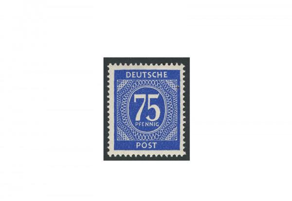 Briefmarke Alliierte Besetzung Kontrollrat I 1946 Michel-Nr. 934 d postfrisch