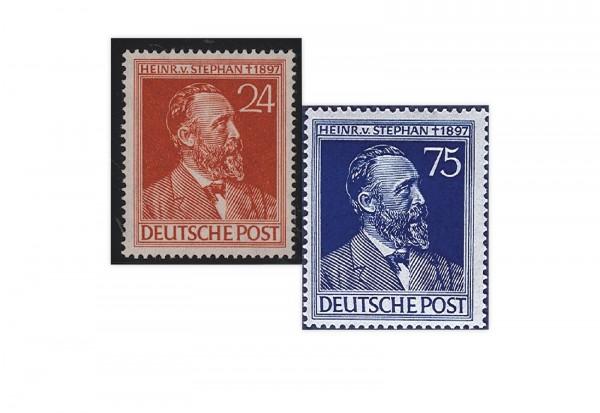 Alliierte Besetzung Heinrich von Stephan Mi.Nr. 963/4 gestempelt