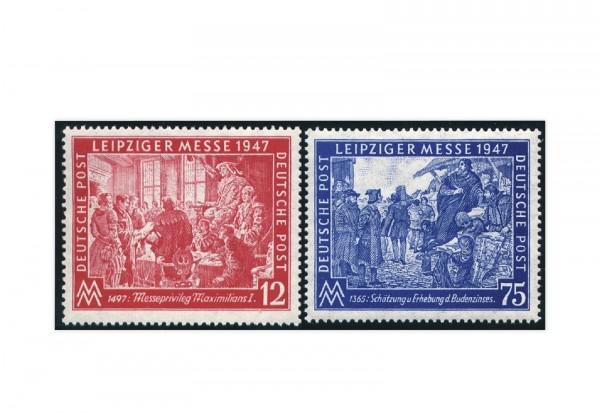 Alliierte Besetzung Leipziger Herbstmesse Mi.Nr. 965/966 gestempelt