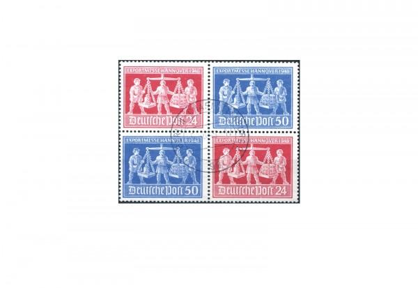Alliierte Besatzungszonen Exportmesse Hannover 1948 Mi.Nr. 969/70 V zd 2 gestempelt