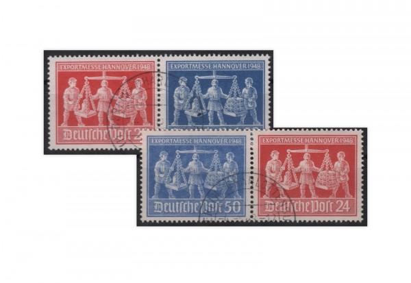 Alliierte Besetzung Exportmesse Hannover Mi.Nr. 969-70 Wzd 1+3 gestempelt