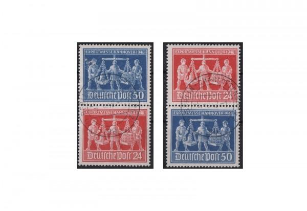 Alliierte Besatzungszone Exportmesse Hannover 1948 Mi.Nr. 969/70 SZd 1+3 gestempelt