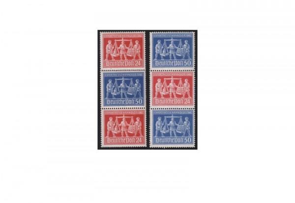Allierte Besetzung Mi.Nr. 969/970 SZd 2+4 gestempelt Exportmesse