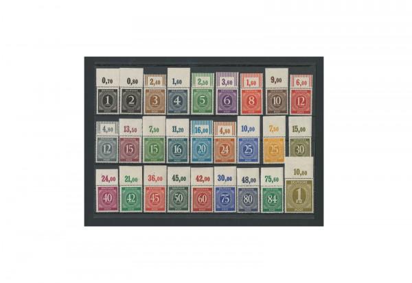 Briefmarken Alliierte Besetzung Kontrollrat I 1946 Michel-Nr. 911-937 OR postfrisch