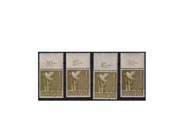 Alliierte Besetzung Taube 1946 Michel-Nr. 959 a, b, c, d OR P dgz postfrisch geprüft
