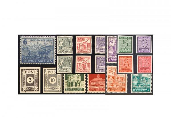 SBZ 1945 bis 1949 postfrisch im Set