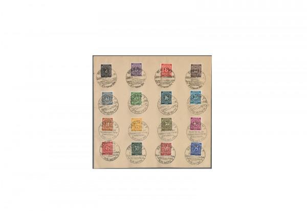 Briefmarken Alliierte Besetzung Kontrollrat I 1946 Michel-Nr. ex 911-937 gestempelt
