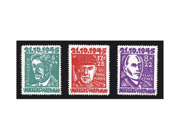 Sowjetische Besatzungszone Mi.Nr. 20/22 postfrisch
