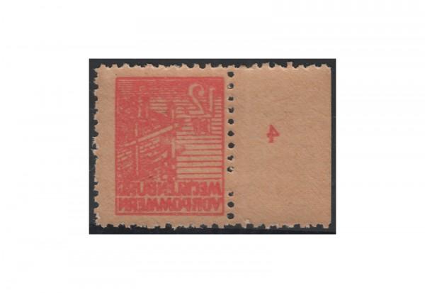 SBZ Freimarken: Abschiedsserie 1946 Michel Nr. 36 y (F) postfrisch
