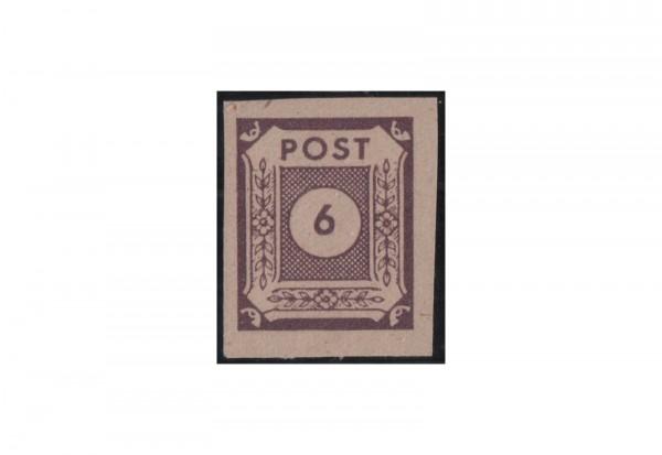 SBZ Freimarke: Ziffernserie 1945 Michel Nr. 58 a U postfrisch geprüft