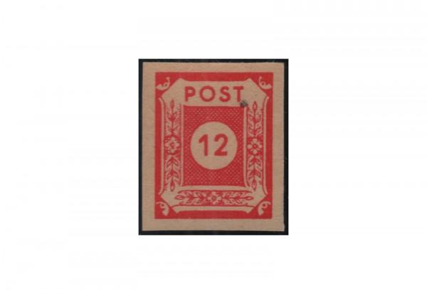 SBZ Freimarke: Ziffernserie 1946 Michel Nr. 63 v G postfrisch geprüft