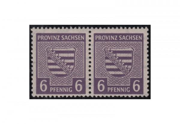 SBZ Freimarken: Provinzwappen 1945 Michel Nr. 76 X a+c postfrisch PA geprüft