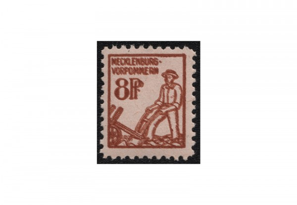 SBZ Freimarken: 1. Ausgabe 1945 Michel Nr. 15 b DD postfrisch geprüft