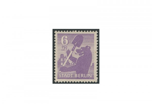 Briefmarken SBZ Berliner Bär 1945 Michel-Nr. 2 Awbx postfrisch geprüft