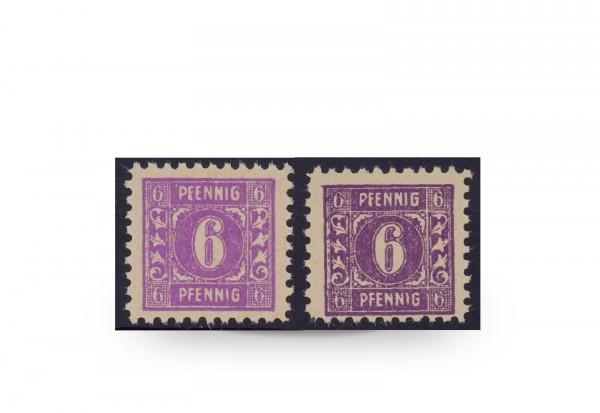 Briefmarken SBZ 1945 Michel-Nr. 9b+c postfrisch