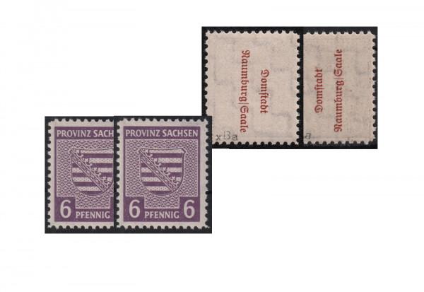 SBZ Mi.Nr. 69 XB a I/aI (K) postfrisch Naumburg 1945