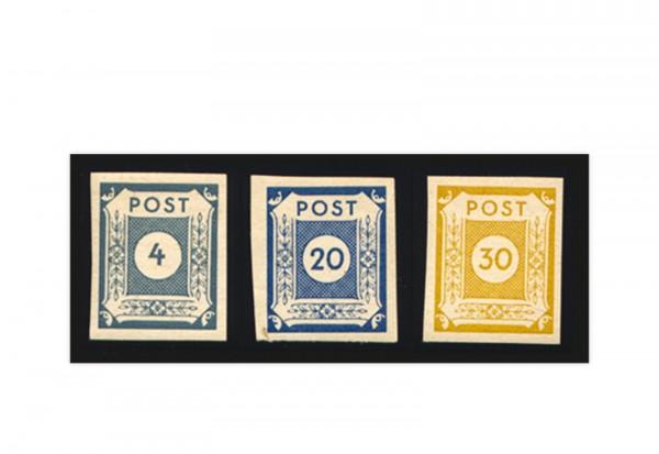 SBZ Mi.Nr. 53/55 postfrisch