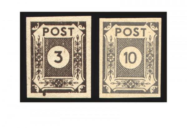 Briefmarken SBZ Mi.Nr. 51y/52y gestempelt geprüft