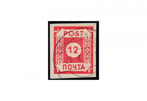 Sowjetische Besatzungszone Mi.Nr. B I POTSCHTA gestempelt