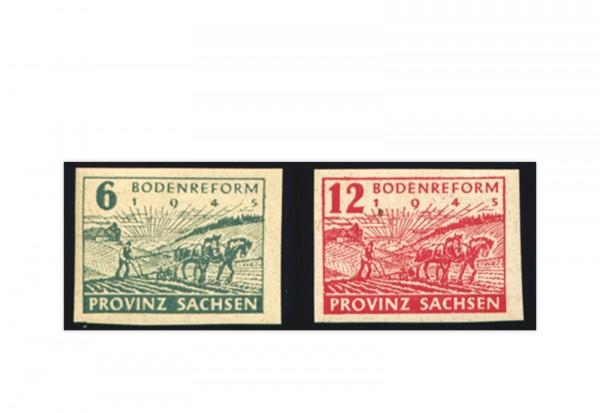 Briefmarken SBZ 1945 Michel-Nr. 85 / 86 postfrisch