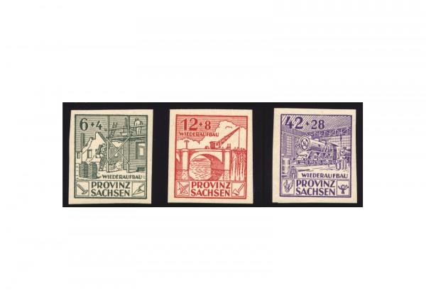 Briefmarken SBZ 1946 Michel-Nr. 87/89 B postfrisch