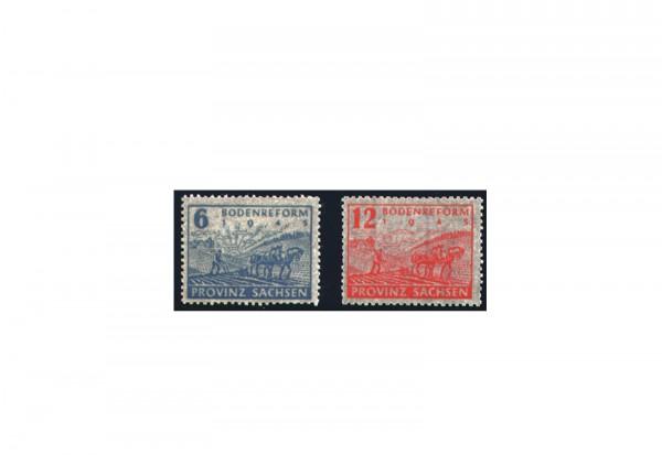 Briefmarken SBZ 1946 Michel-Nr. 90/91 postfrisch