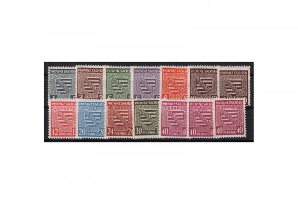 Briefmarken SBZ Mi.Nr. 73/84 X postfrisch ohne 80 X