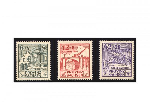 SBZ Mi.Nr. 87A/89A gestempelt