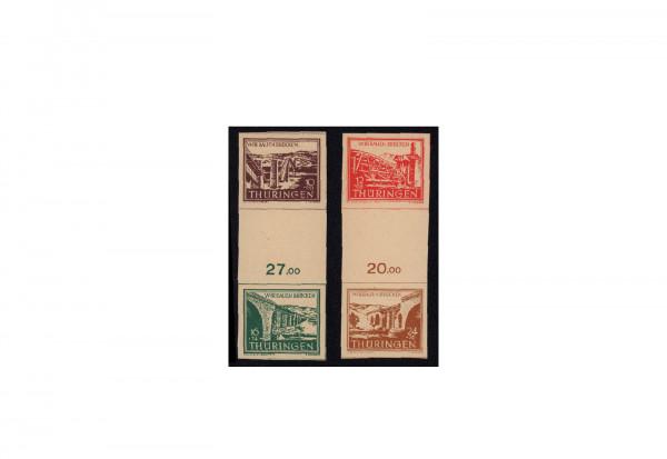Briefmarken SBZ Wiederaufbau 1946 Michel-Nr. S Zd 1+2 ay postfrisch