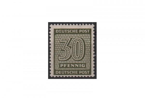 Briefmarke Sowjetische Besatzungszone Michel-Nr. 135 Xa postfrisch geprüft