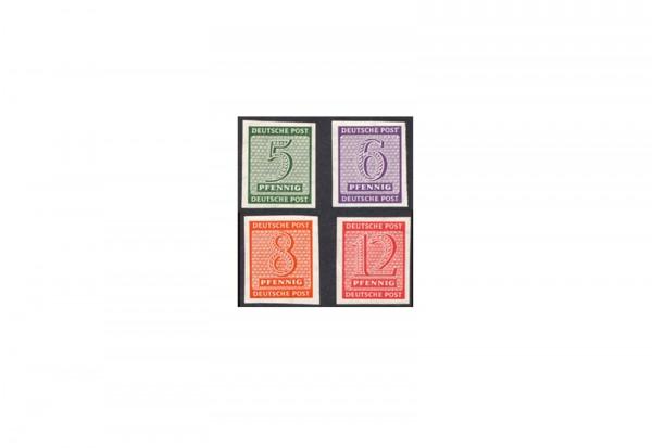 SBZ Michel 116 / 119 X postfrisch