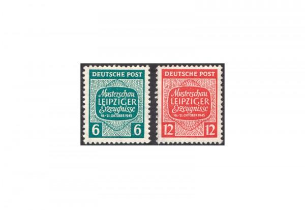 SBZ Michel-Nr. 124Y/125 Y postfrisch