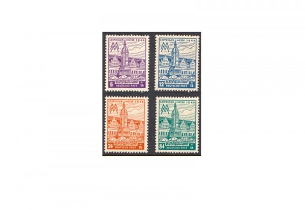 SBZ Michel-Nr.162/165 AX postfrisch