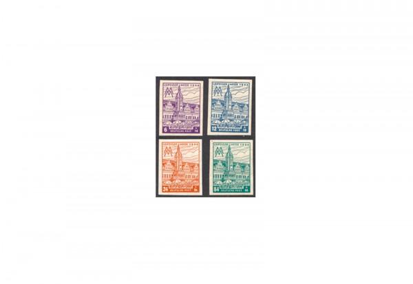 SBZ Michel-Nr. 162/165 BX postfrisch
