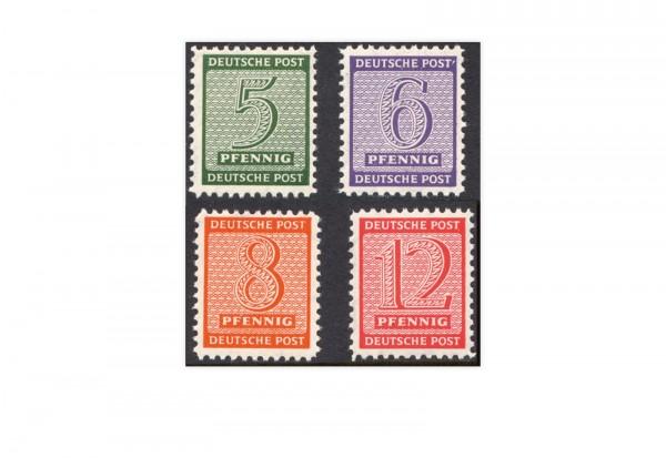 SBZ Mi.Nr. 120 X/123 X postfrisch