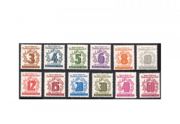 SBZ Mi.Nr. 138 y/149 y postfrisch