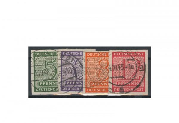 SBZ Mi.Nr. 116 Y/ 119 Y gestempelt