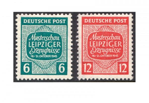 SBZ Michrl-Nr. 124Y/125Y gestempelt