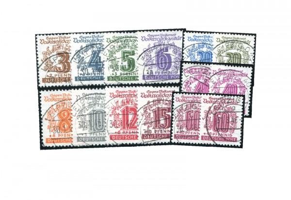 SBZ 138/149y + 148/149 b gestempelt Volkssolidarität 1946
