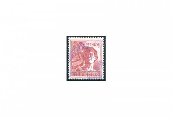 SBZ Bezirkshandstempel 1948 Bezirk 16 Erfurt Mi.Nr. 179 ** geprüft