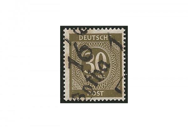 SBZ Bezirkshandelstempel - Ziffernausgaben 1948 Michel Nr. I p gestempelt geprüft