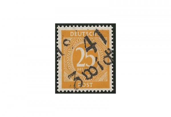 SBZ Bezirkshandstempel - Ziffernausgaben 1948 Michel Nr. I v postfrisch geprüft