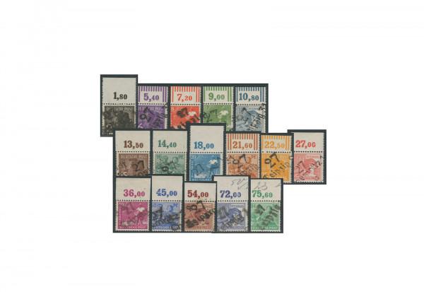 Briefmarken SBZ Freimarken 1948 Michel-Nr. 166-181 (ohne 179) XX gp. postfrisch