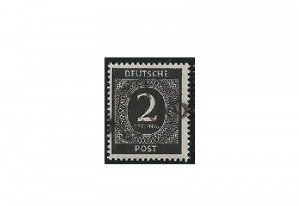 Briefmarke SBZ Bezirkshandstempel Michel-Nr. I a gestempelt und geprüft