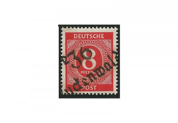 SBZ Bezirkshandstempel 1948 Michel Nr. I d gestempelt geprüft